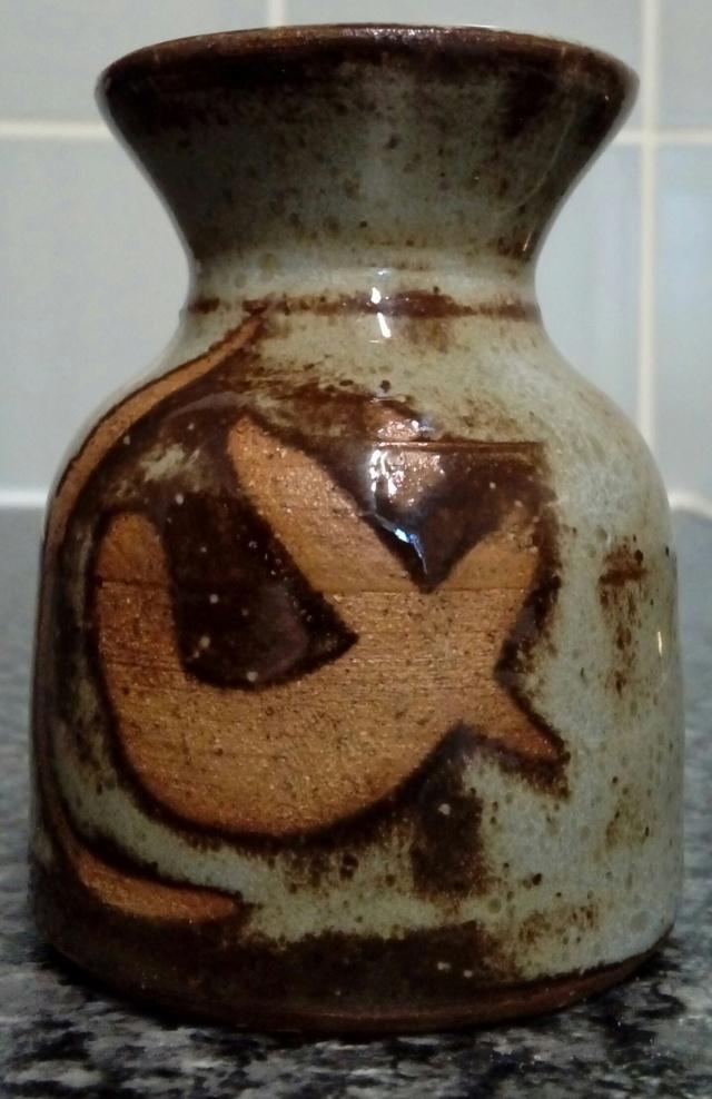 Wax-resist pot, unsigned. 20200668