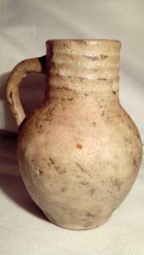 Coil-built, Lava Glazed Pot. Unsigned. 20200693