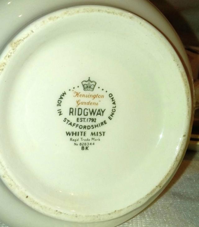 Ridgway Potteries (Staffs) 20200801