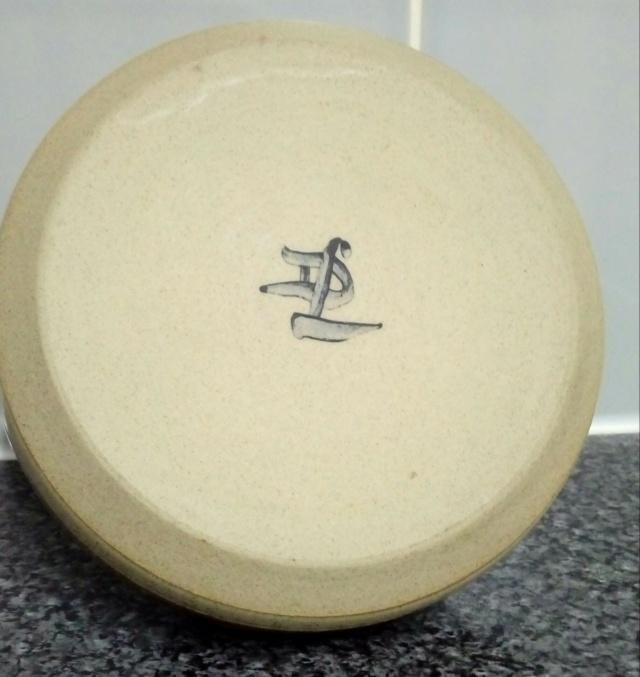 Vase signed DL  20200868