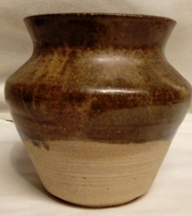 Large Handthrown bowl, Stamped K? 20200958