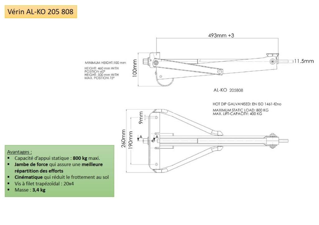 RACLET Solena : Remplacement des stabilisateurs par vérins Diapos19