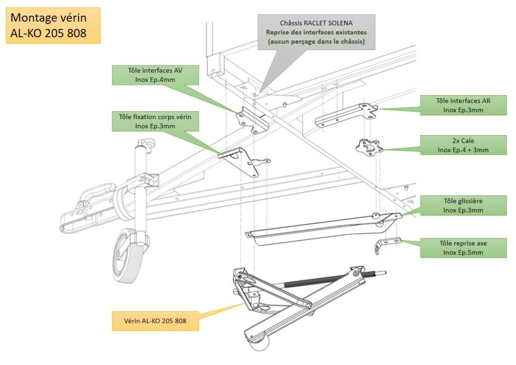 RACLET Solena : Remplacement des stabilisateurs par vérins Diapos23