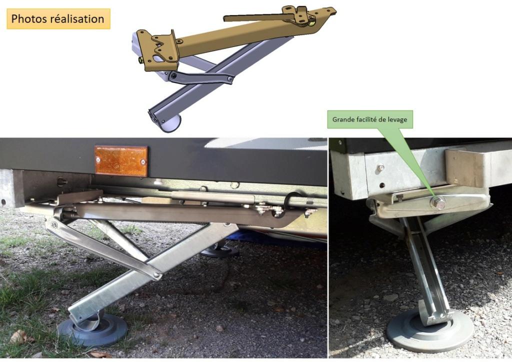 RACLET Solena : Remplacement des stabilisateurs par vérins Diapos24