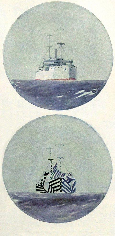 Les navires razzle dazzle  en 14/18 5ef7d010