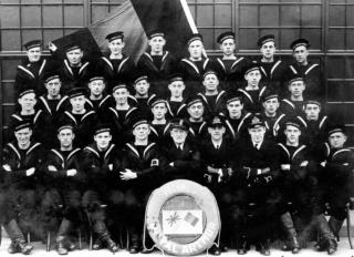La libération des marins belges à la Navy 75 ans déjà  810d4f10
