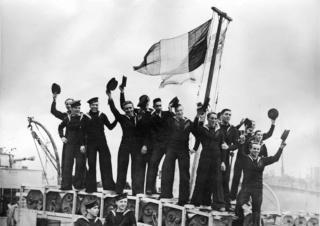 La libération des marins belges à la Navy 75 ans déjà  85f50310