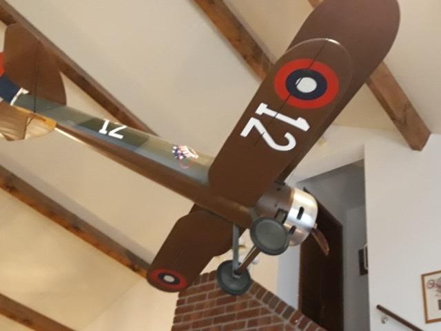 L'avion Nieuport sur les porte avions en 14/18 E8c88410