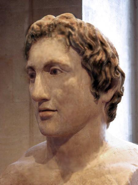 Portraits monétaires Alexandre le Grand Alex210