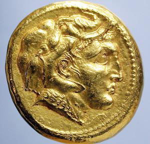 Portraits monétaires Alexandre le Grand Alexan11