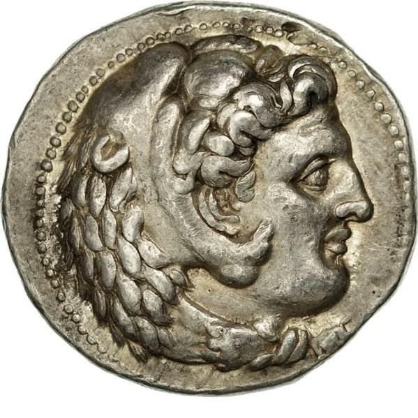 Portraits monétaires Alexandre le Grand Combin10