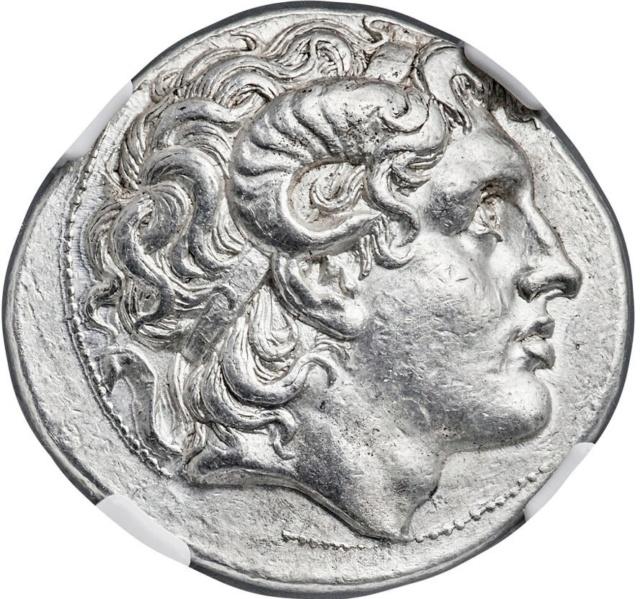 Portraits monétaires Alexandre le Grand Image310