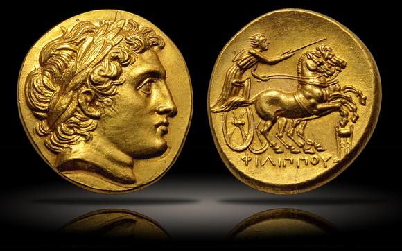 Portraits monétaires Alexandre le Grand P4724910