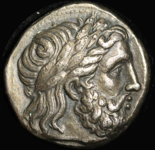 Portraits monétaires Alexandre le Grand Philip10