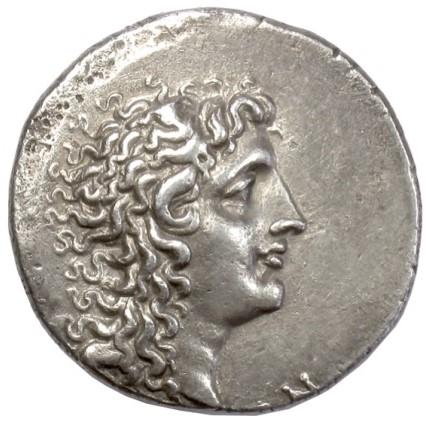 Portraits monétaires Alexandre le Grand Sef28t10