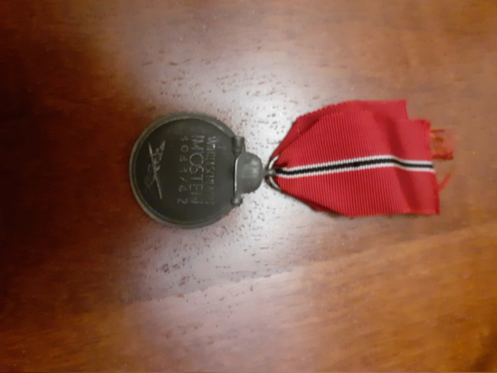 Ma première médaille du troisième reich  20201217