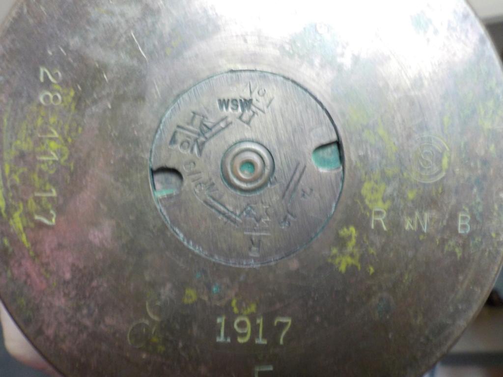 douille d'obus de la bataille de la somme . Dscn0818