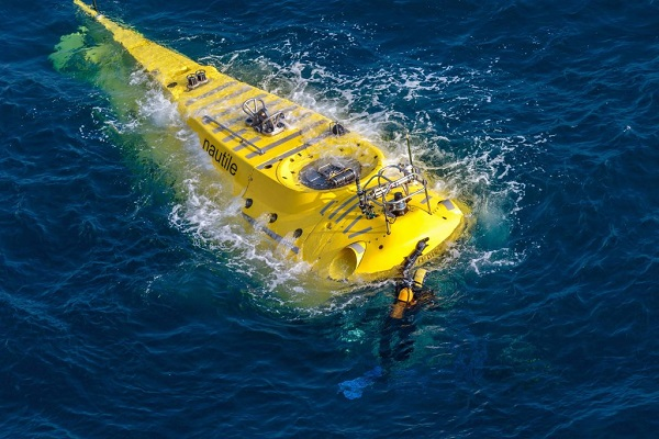 Le Nautile Sous marin d'exploration de l'Ifremer au 1/8 ème - Page 3 Nautil33