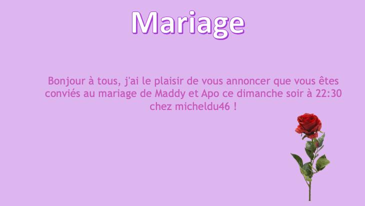 Mariage de maddy_b et apo4020 Captu633