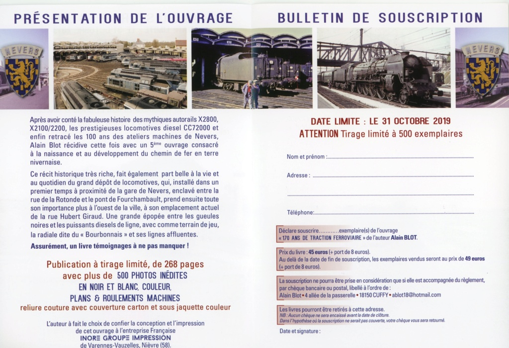 Livre dépôt de Nevers 66450410