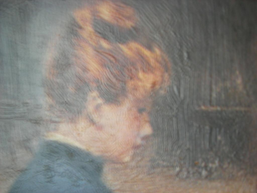 Reproduction d'un tableau de victor gilbert Dscn8112