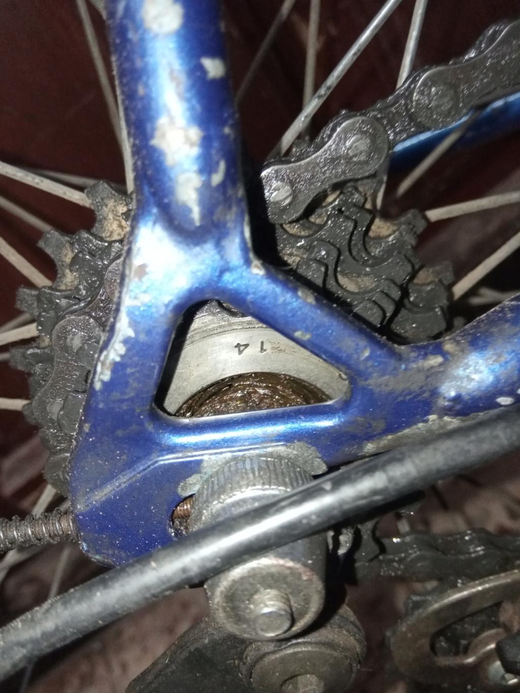 Cadre à identifier ou vélo à identifier Img_2029