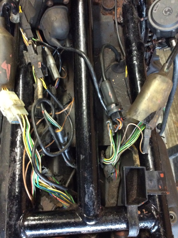 Voltage at Pin 1 Fuel injection controller plug. 66216410