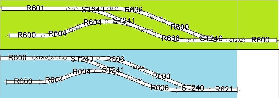 [H0, 00, 0n30 et Gn15] Un réseau de manœuvre 23010