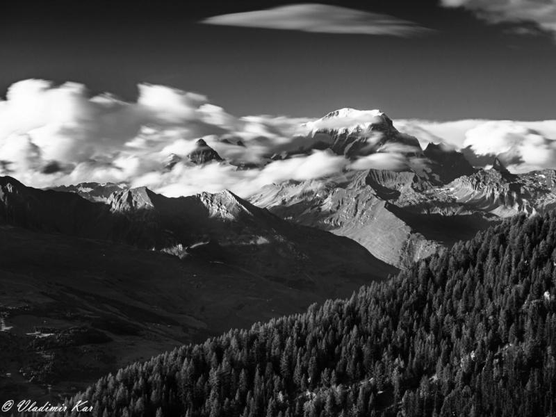 Mont Blanc drappé de son manteau... 50290610