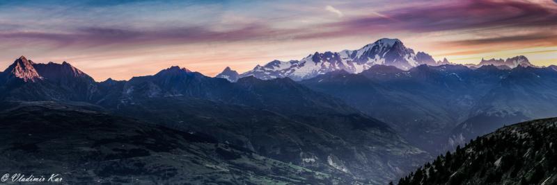 Caresse de soleil sur le Mont Blanc 50341110