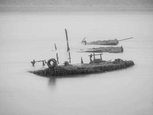 Cimetiere de bateaux à Kerhervy Kerher11