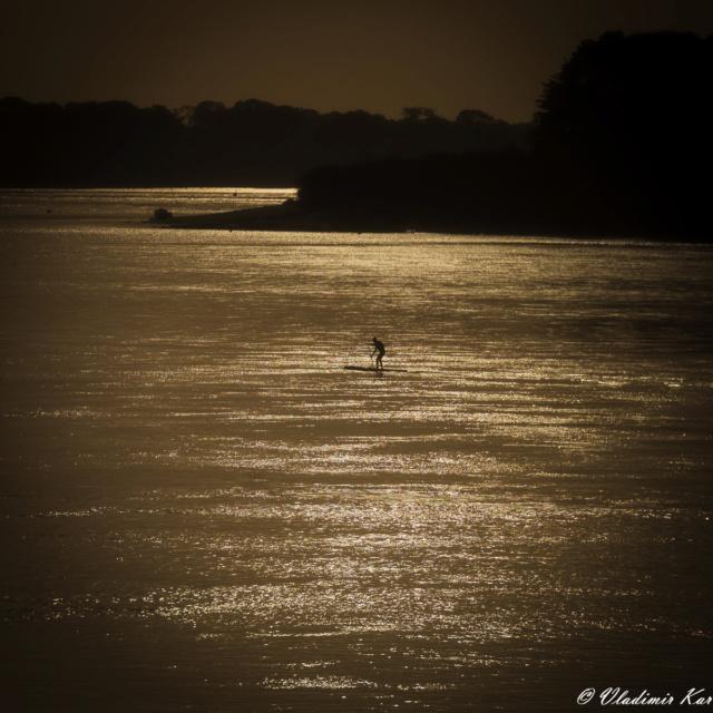 Du Paddle à 3°C... Possible en Bretagne ! The_pa10