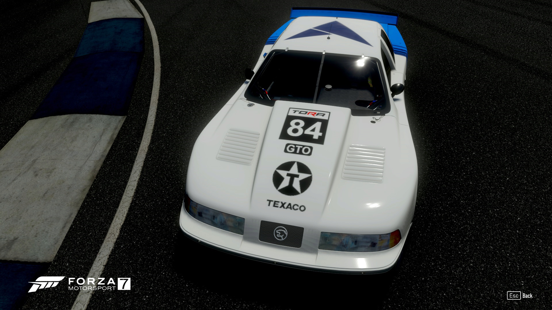 TORA 8 Hours of Indianapolis - Livery Inspection Forza_10