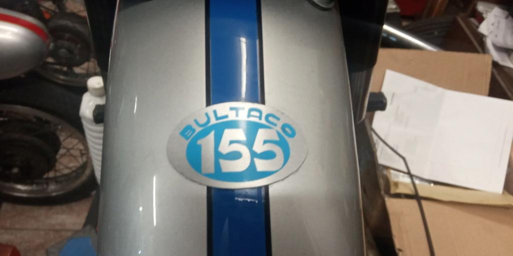 Bultaco 155 (NO ES El MODELO MERCURIO) 155-210