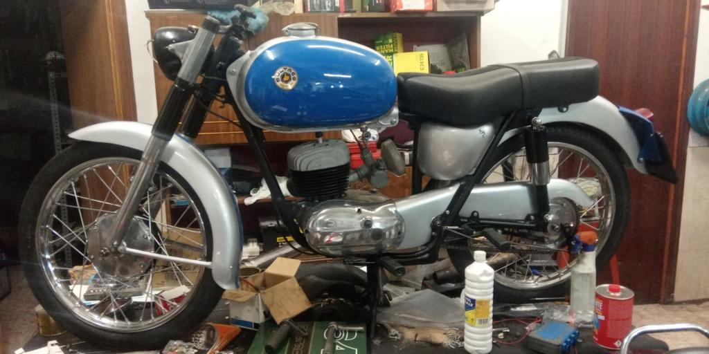 Bultaco 155 (NO ES El MODELO MERCURIO) 15510