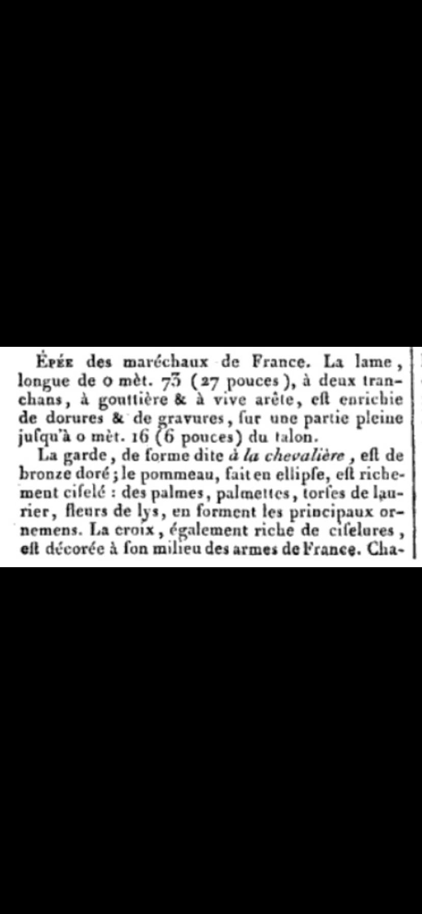 Un  magnifique glaive de Maréchal de France mod.1817 adjugé 117760€ 04e28610