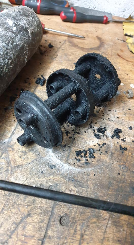 Sauvetage d'une Puch Monza 4SL Pot_410