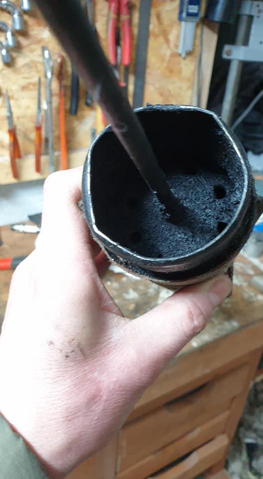 Sauvetage d'une Puch Monza 4SL Pot_510
