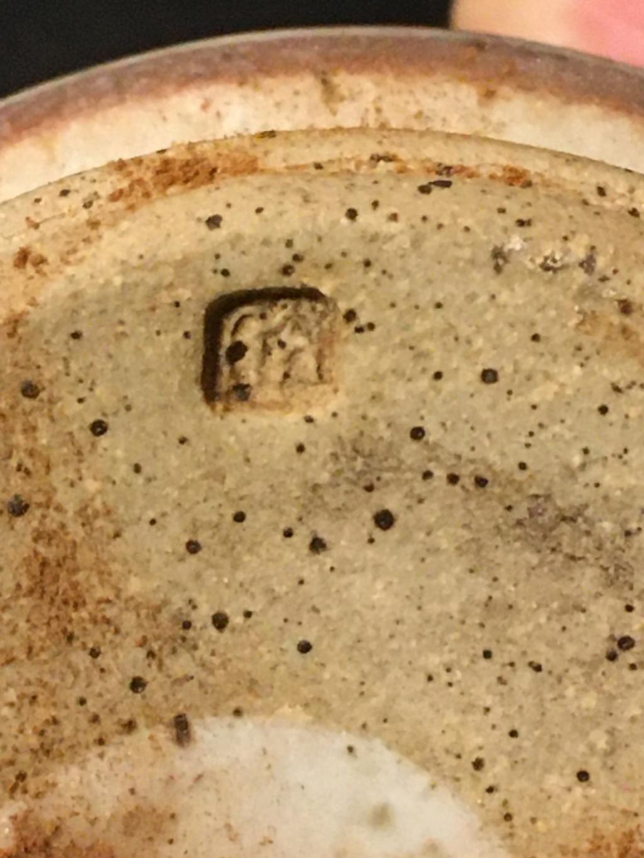 Stoneware (sgraffito?) Cat and Mouse Vase Img_8923