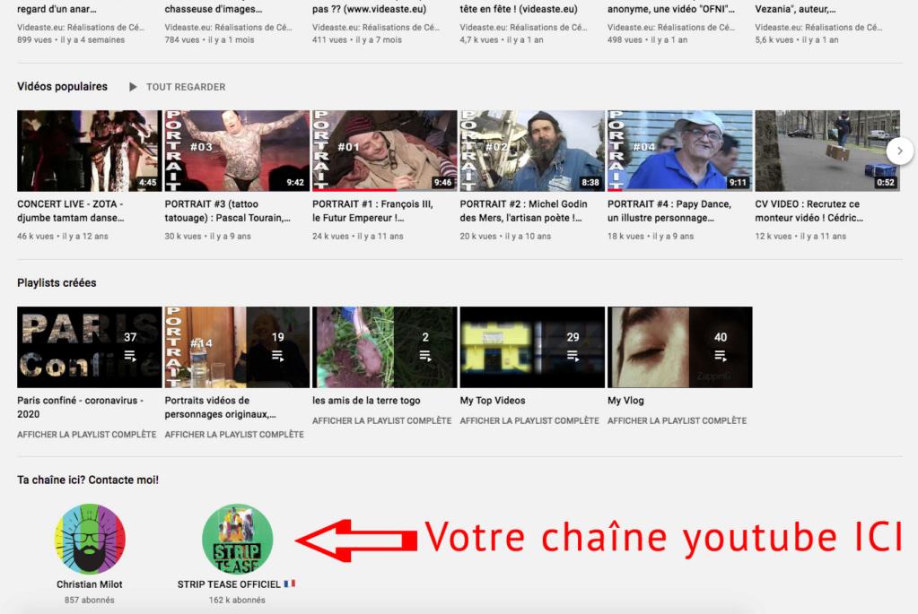 Echange de liens : partenariat (PAS DE SUB FOR SUB !!! ) Youtub11