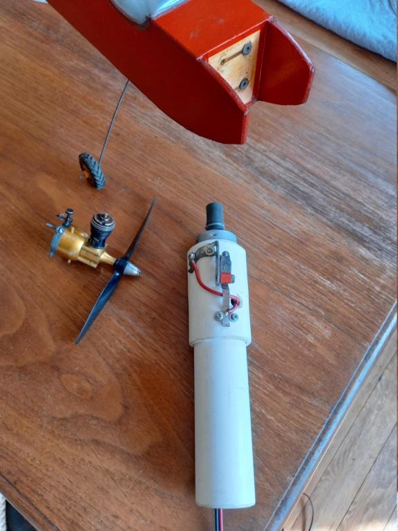 Old stock mini electric starter repair 20210810