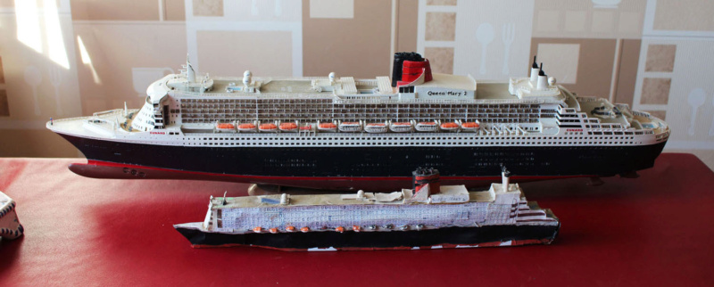 RMS Queen Mary 2 [Revell Platinium Edition v. LED 1/400°] de Jearchy Img_8034