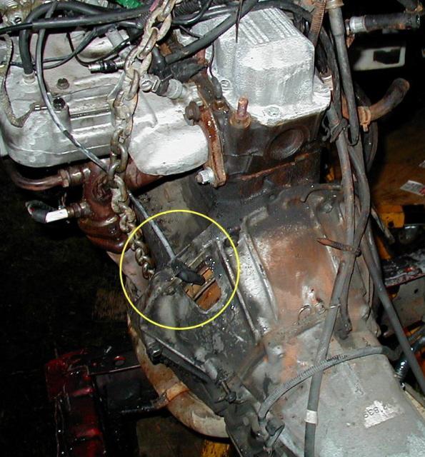 XJ 4 litres ne démarre pas U115-110