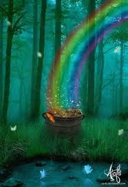 La légende de l'arc-en-ciel et du chaudron remplit d'or Images10