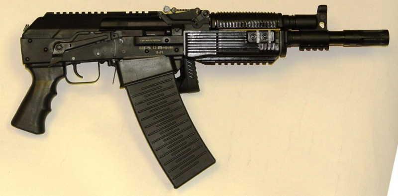 Fusil à pompe vs semi-auto Molot10