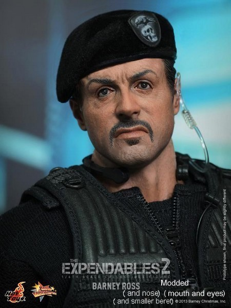 THE EXPENDABLES 2 - BARNEY ROSS (MMS194) 55518714