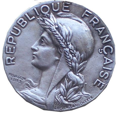 monnaie francaise Med110