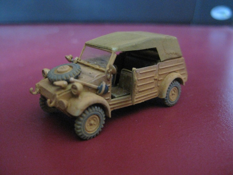 Kubelwagen ,WW.II Ground Vehicle Set [Academy 1/72 ] FINI! Kubelw11