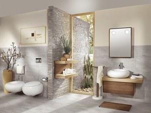 Salle de bain teck