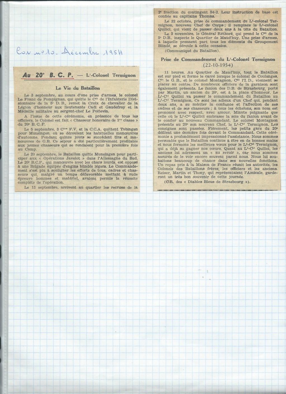 renseignement 20eme BCP 20zome13